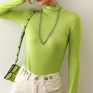 Project Social T- Urban Outfitters Lime Green Top